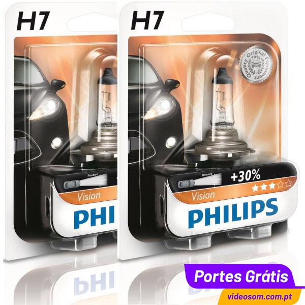 philips vision 30 h7 12v 55w px26d 12972pr 2 l mpadas. Black Bedroom Furniture Sets. Home Design Ideas