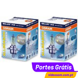 Osram ALL SEASON SUPER +30% H4 12v 60/55w ( 2 Lâmpadas )