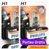 Philips Vision +30% H1 12v 55w (2 Lâmpadas )