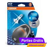 OSRAM X RACER H7 12v 55w  4000K ( 2 Bulbs )