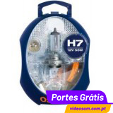Osram spare kit H7
