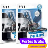 Philips H11 WhiteVision  ( 2 Lâmpadas )