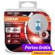 Osram H7 12v 55w Night Breaker Laser +130 %  ( 2 Bulbs )