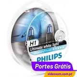 Philips H1 12v 55w Diamond Vision 5000K ( 2 bulbs )