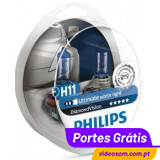 Philips H11 12v 55w Diamond Vision 5000K     ( 2 lâmpadas )