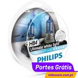 Philips HB4 12v 55w Diamond Vision 5000K     ( 2 lâmpadas )