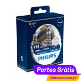 Philips Racing Vision + 150 %  H4 12v 60/55w ( 2 Lâmpadas )