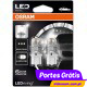 Osram LED Ledriving W21/5W Branco 6000K - Premium ( 2 lâmpadas )