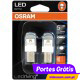 Osram LED Ledriving P21/5W Vermelho - Premium ( 2 lâmpadas )