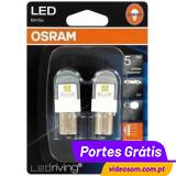 Osram LED Ledriving P27/7W Branco 6000K - Premium ( 2 lâmpadas )