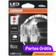 Osram Ledriving W21W Vermelho - Premium ( 2 lâmpadas )