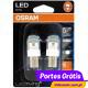 Osram LED Ledriving P21W - Laranja / Amber BA15s Premium ( 2 lâmpadas )