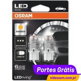 Osram LED Ledriving W21W Amber - Premium ( 2 bulbs )
