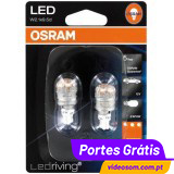 Osram LED Ledriving W16W RED - Premium ( 2 bulbs )