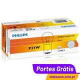 Philips P21w 12V 21W BA15s ( 10 lâmpadas )
