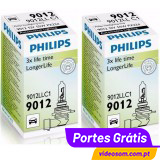 Philips HIR2 9012LL LongLife 12v 55w PX22d  ( 2 Bulbs )