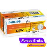 Philips Vision C5W 12V 5W SV8.5 ( 10 lâmpadas )