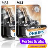 Philips Vision +30% HB3 12v 60w (2 Lâmpadas )