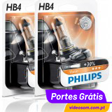 Philips Vision +30% HB4 12v 51w (2 Lâmpadas )