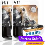 Philips Vision +30% H11 PR 12v 55w (2 Lâmpadas )