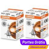 Osram Original H7 12v 55w PX26d 64210 ( 2 Lâmpadas )
