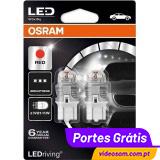 Osram Ledriving W21/5W RED - Premium 7915R ( 2 bulbs )