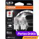 Osram LED Ledriving W21/5W Vermelho - Premium 7915R ( 2 lâmpadas )