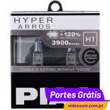 PIAA HYPER ARROS H1 12V 55W + 120% 3900K ( 2 Bulbs )