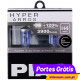 PIAA HYPER ARROS H4 12V 60/55W + 120% 3900K ( 2 Lâmpadas )