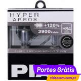 PIAA HYPER ARROS HB4 12V 51W + 120% 3900K ( 2 Lâmpadas )