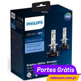 Philips LED H4 X-treme Ultinon 12901HPX2 ( 2 Bulbs )