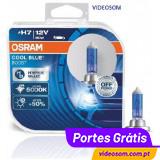 Osram H7 Cool Blue Boost 12v 80w PX26d 62210CBB 5000K ( 2 lâmpadas )