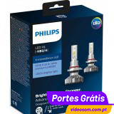 Philips LED HB3 X-treme Ultinon 11005XUWX2  ( 2 Lâmpadas )