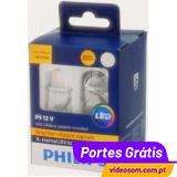 PHILIPS X-treme Ultinon LED T20 WY21W Amber 11065XUAX2 ( 2 Lâmpadas )