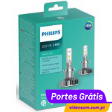 Philips Ultinon LED H7 LED 6200K 11972ULWX2 ( 2 lâmpadas LED )