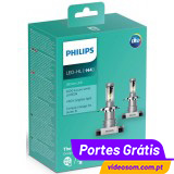 Philips Ultinon LED H4 LED 6200K 11342ULWX2 ( 2 lâmpadas LED )