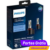 Philips LED FOG H8/H11/H16 X-treme Ultinon 12794UNIX2  ( 2 Lâmpadas )