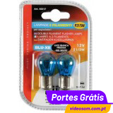 LAMPA Blu-Xe P21/5W 12v 21/5w BAY15d ( 2 Lâmpadas )