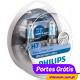 Philips White Vision Ultra H7 + W5W ( 4 Lâmpadas )