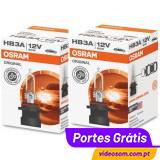 Osram Original HB3A 12v 60w P20d 9005XS ( 2 Lâmpadas )