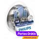 Philips Crystal Vision H4 + W5W ( 4 Lâmpadas )