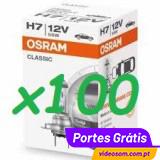 Osram Classic H7 12v 55w  ( 100 LÂMPADAS )