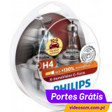 Philips H4 X-treme Vision G-FORCE +130 ( 2 Lâmpadas )