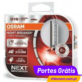 Osram D1S Night Breaker Laser NEXT +200% ( 2 Lâmpadas )