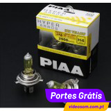 PIAA H4 12v 60/55w Hyper Arros Ion Yellow 2500K ( 2 Bulbs )