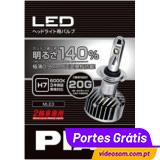 PIAA LED H7 MLE3 +140% 20G 6000K MOTO ( 1 Lâmpada )