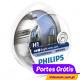 Philips Crystal Vision H1 + W5W ( 4 Lâmpadas )
