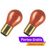 Osram PY30/8W 12v 30/8w BAY15d 2357A Amber / Laranja ( 2 Lâmpadas )