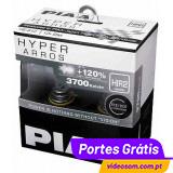 PIAA HYPER ARROS HIR2 / 9012 12V 55W + 120% 3700K ( 2 Lâmpadas )