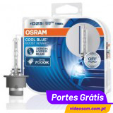 Osram Xenarc Cool Blue Boost D2S 7000K ( 2 Bulbs )